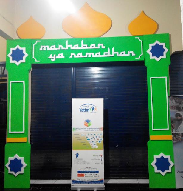 Dekorasi Ramadhan di Kantor Rumah Yatim