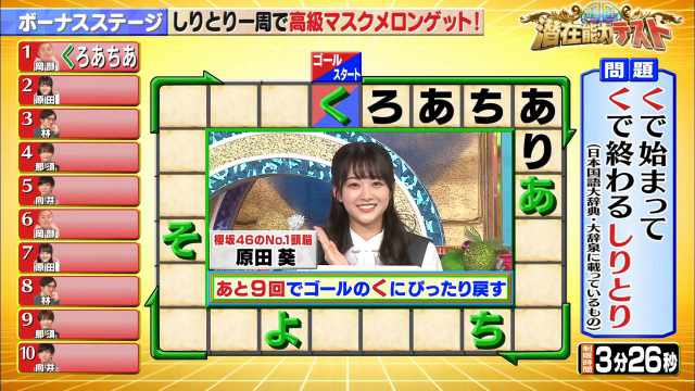 210720 Senzai Nouryoku Test