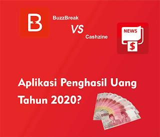 Cashzine dan BuzzBreak