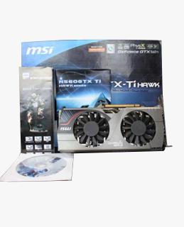 Vga Card MSI N560 TI Hawk Series