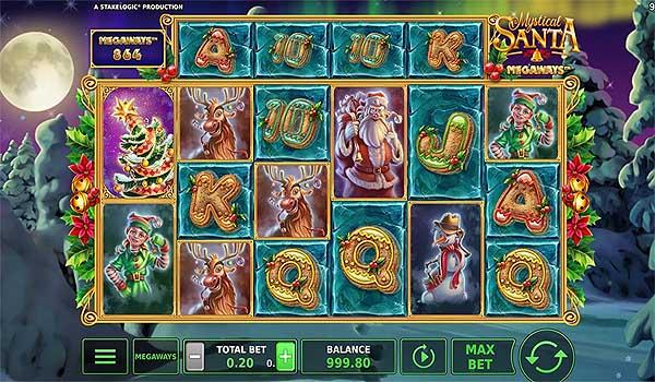 Main Gratis Slot Indonesia - Mystical Santa Megaways (Stakelogic)