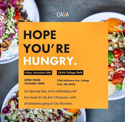 Cava Grill College Park Maryland