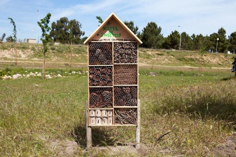Hotel de abelhas