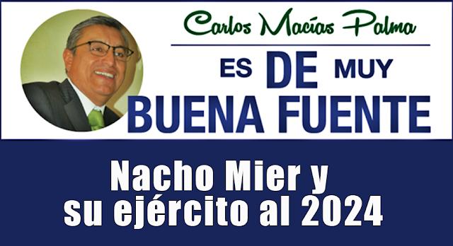 Nacho Mier y su ejército al 2024