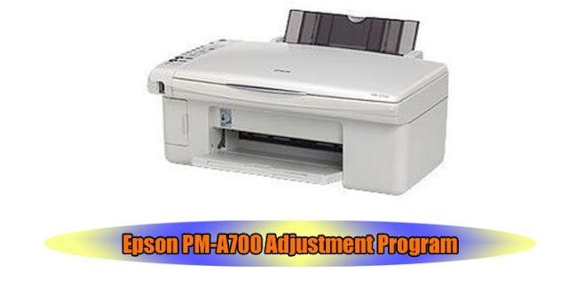 Epson PM-A700 Printer Adjustment Program