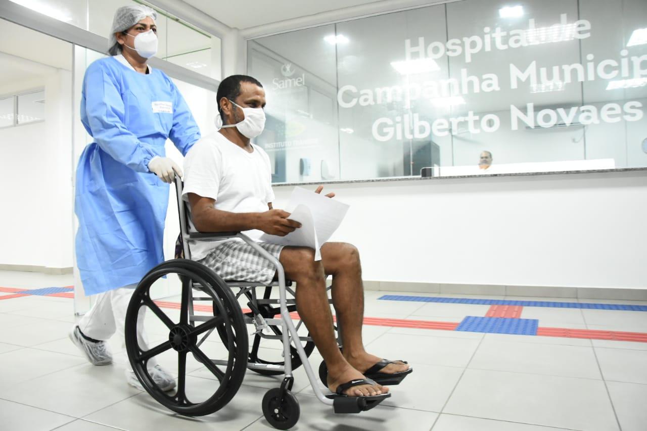 Sem pacientes e após 71 dias, Manaus encerra atividades de hospital de campanha