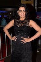 Wamiqa Gabbi in a sleeveless Black Designer Transparent Gown at 64th Jio Filmfare Awards South ~  Exclusive 015.JPG