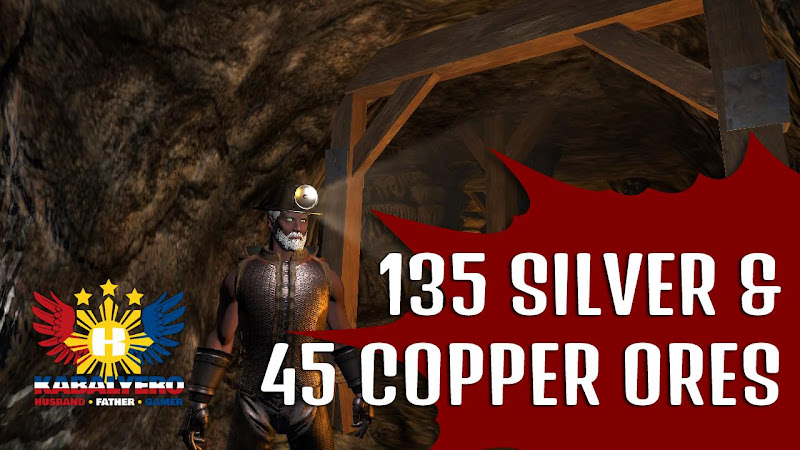 Shroud of the Avatar • Mining In Elysium Mines • 135 Silver Ores [Gameplay]