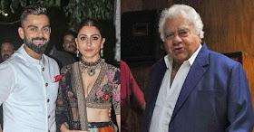 Why Anushka Sharma got angry at former cricketer Farooq Engineer