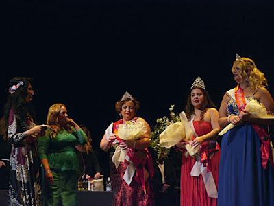 Eva Burgos; Berta Lemus; Luisi Teba; Nani García; evento