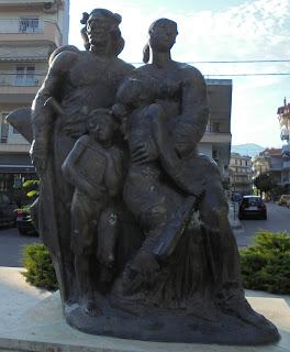 Μνημείο ποντιακού ελληνισμού στην Αριδαία