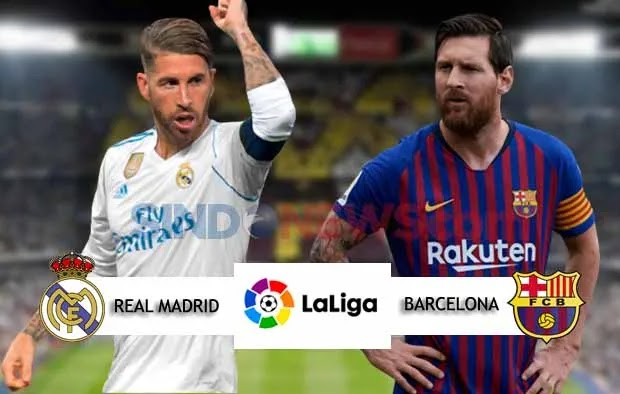 Cupilikan Pertandingan Liga Spanyol   Real Madrid Vs Barcelona