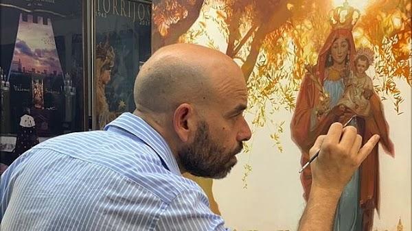 Fernando Vaquero pintará el cartel del 75º Aniversario de la Agrupación de Cofradías de Almería