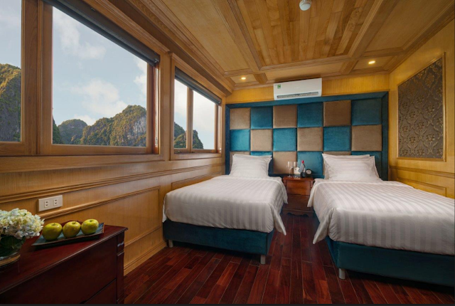 Maya cruise ha long twin room