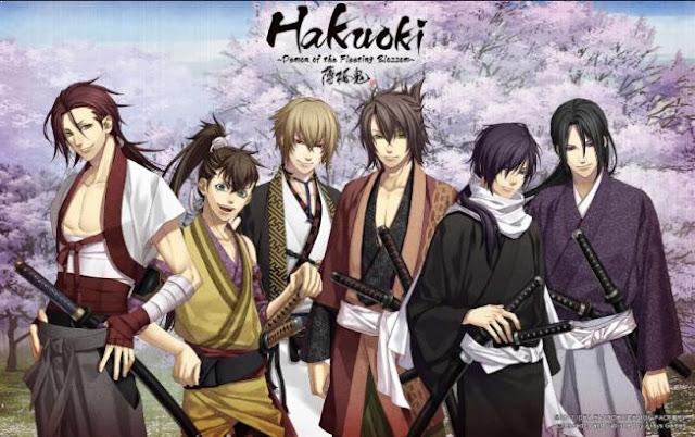 Hakuouki - Daftar Anime Samurai Terbaik Sepanjang Masa