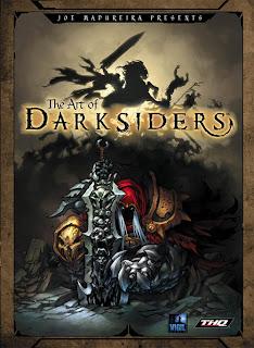 artbook darksider illustrations artworks croquis