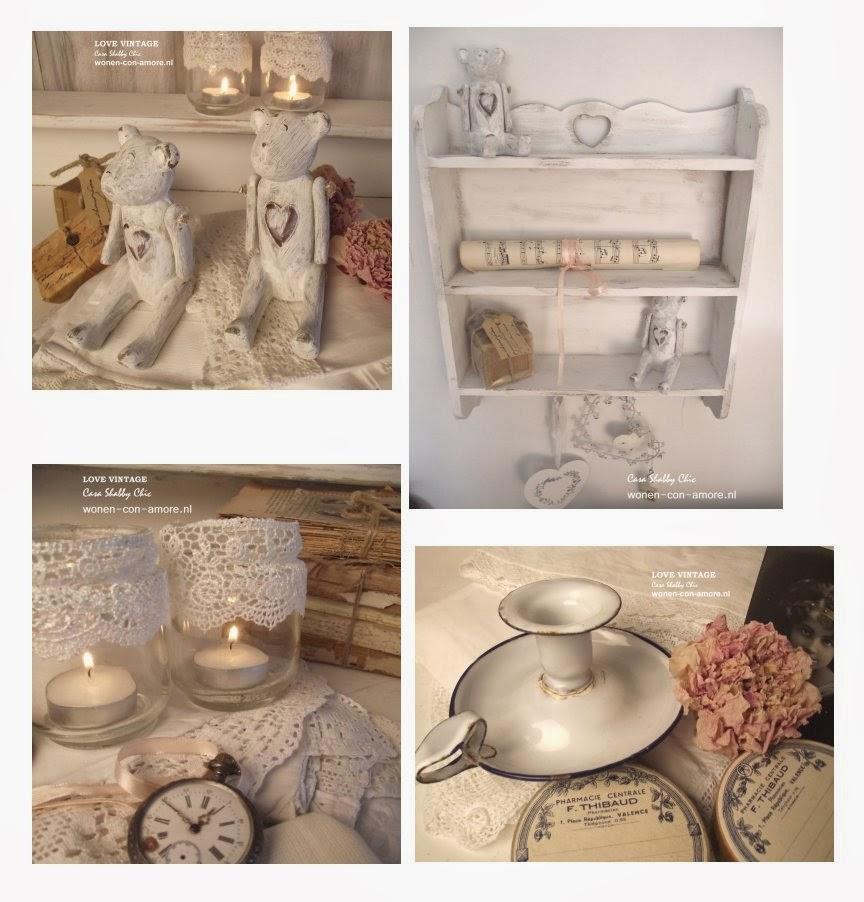 shabby chic con amore casa shabby chic novit sul mio shop online brocante vintage per lo. Black Bedroom Furniture Sets. Home Design Ideas