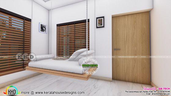 Interior design swing view