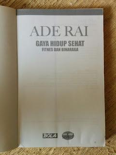 Ade Rai: Gaya Hidup Sehat, Fitnes dan Binaraga