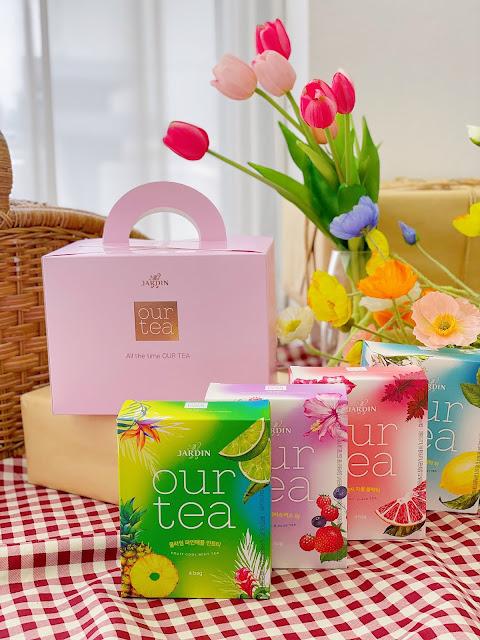 fruit flavor tea bags set amazon