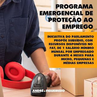 LÍDER DA OPOSIÇÃO PROPÕE PROGRAMA EMERGENCIAL DE PROTEÇÃO AO EMPREGO
