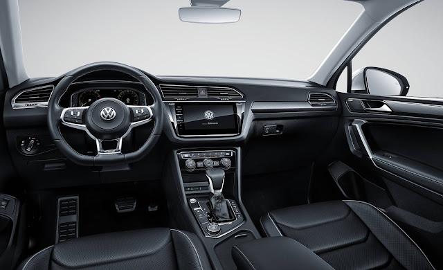 VW Tiguan L alongada surge em versão R-Line na China