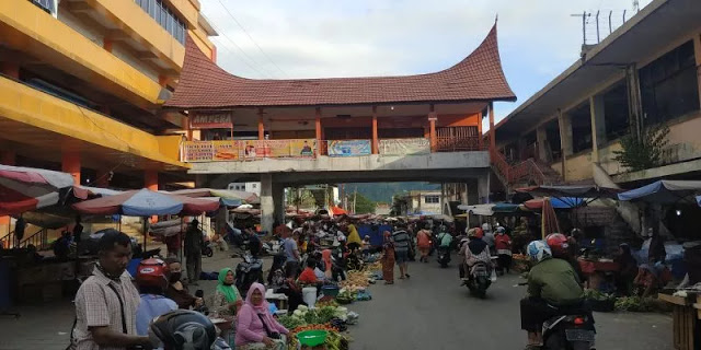 17 Pedagang Positif Corona, 3 Meninggal, Pasar Raya Padang Bakal Ditutup 5 Hari