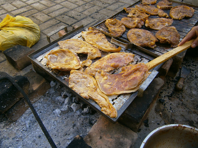 receta peruana de la parrillada chancho o cerdo