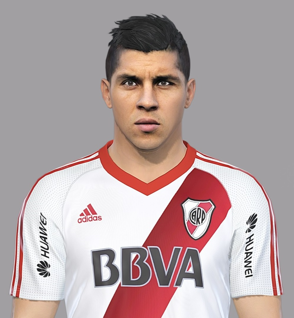 PES 2018 Enzo Perez Face by Luis Facemaker
