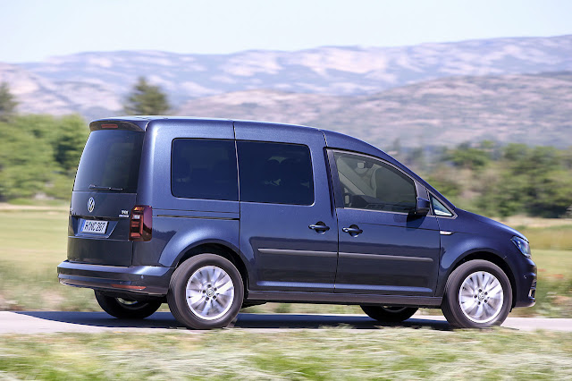 Volkswagen Caddy - with natural gas and dsg
