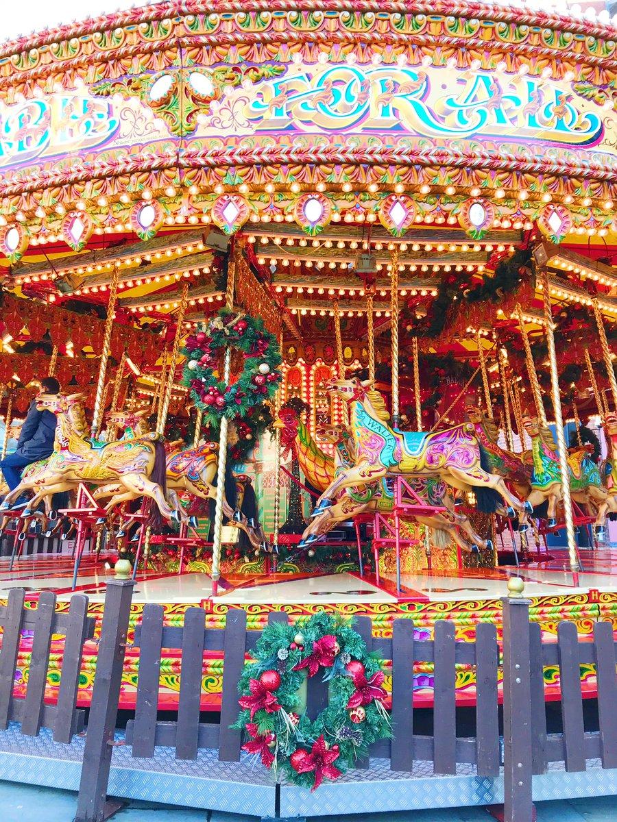 Carousel at Leeds Christmas Market