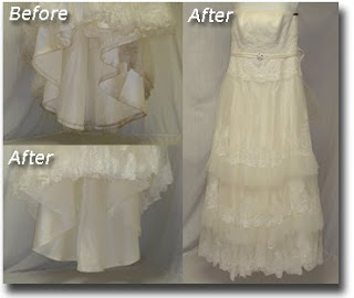 Sottero & Midgley Wedding Gown Cleaned & Preserved at Janet Davis Cleaners