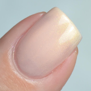 pale peach nail polish