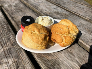 Watersmeet scones