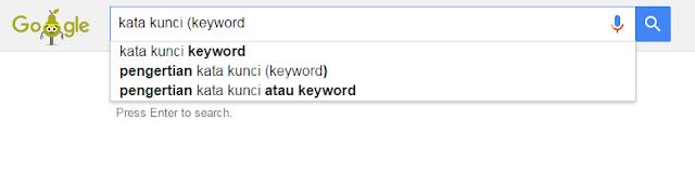 kata kunci keyword