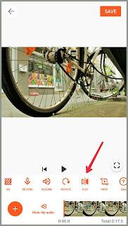 Flip button Tutorial edit Video YouCut