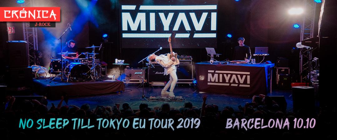 Miyavi - No Sleep Till Tokyo EU Tour 2019 - Barcelona 10.10