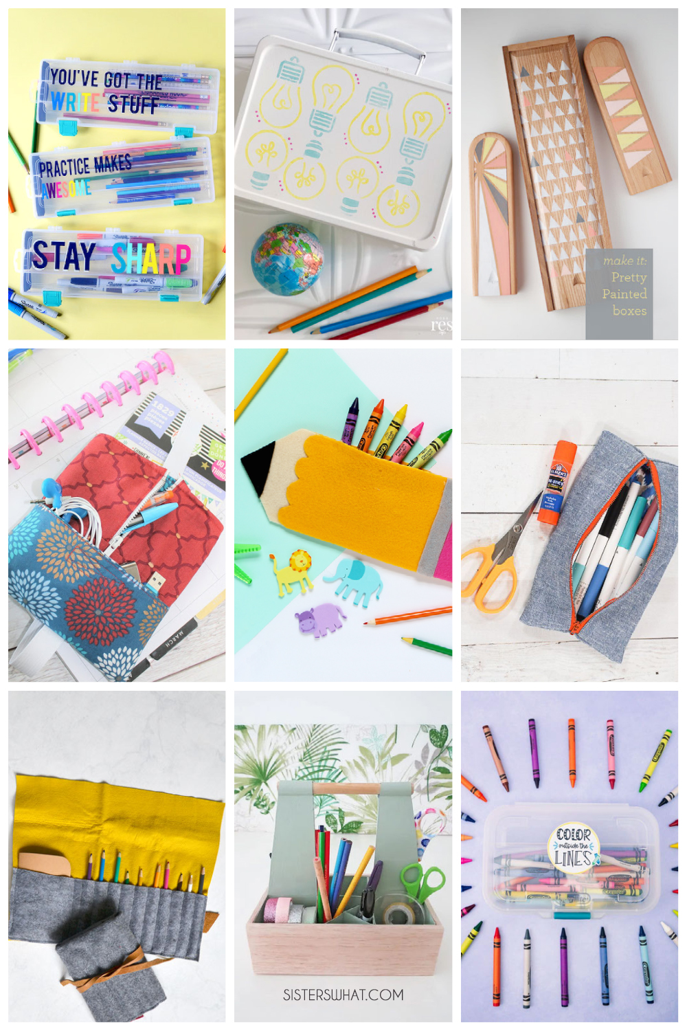 easy to make pencil cases
