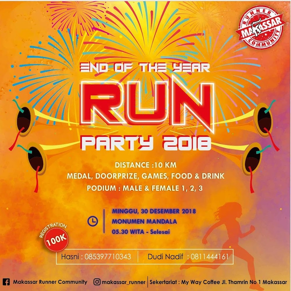 End of The Year Run Party • 2018