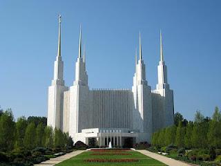 Templu mormon din Washington - Poza de pe google images