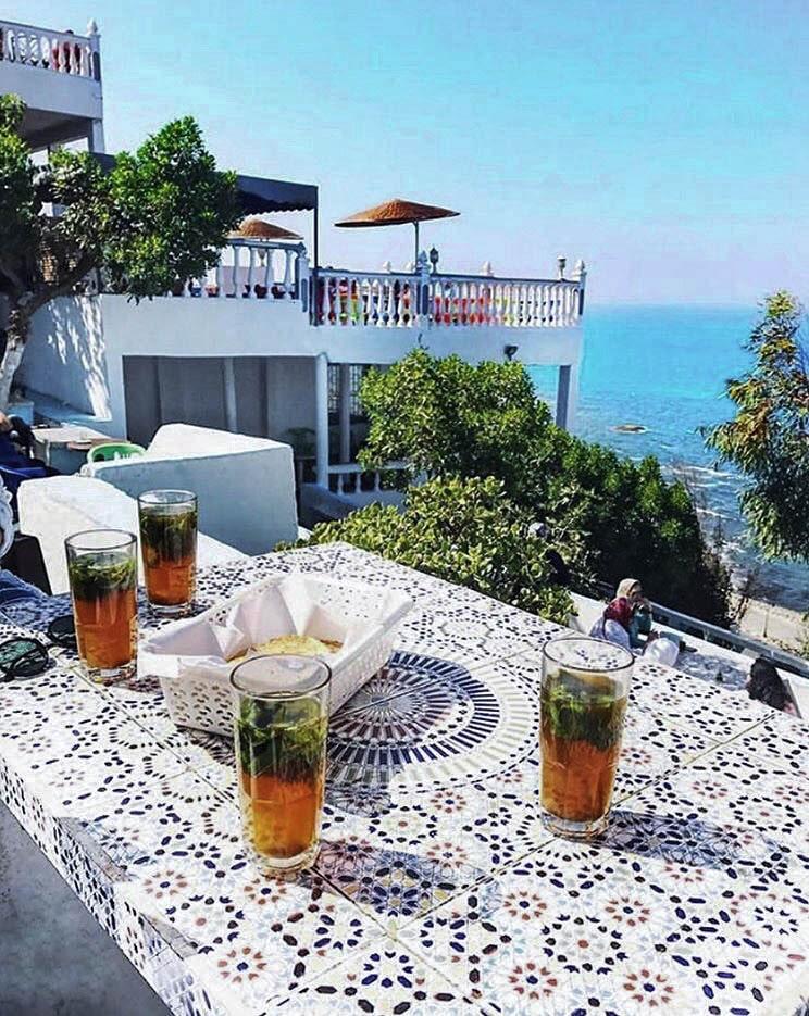 Cafe Hafa Tangier Morocco