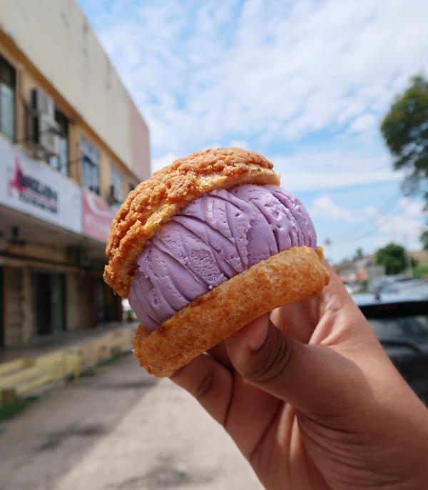 Hokkaido Ice Cream Puff Kota Bharu