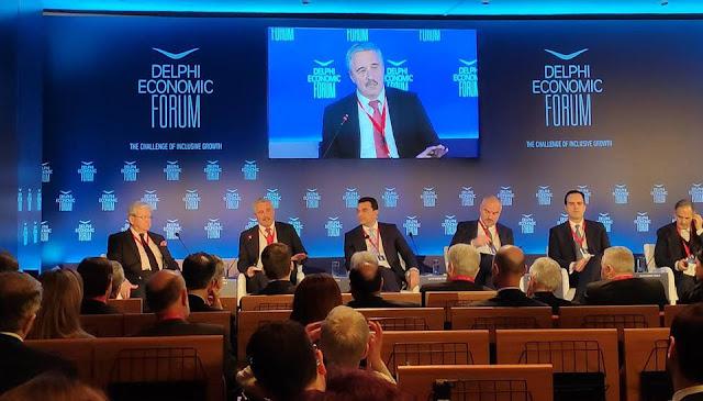 Ο Γιάννης Μανιάτης συζητά στο Οικονομικό Φόρουμ Δελφών (βίντεο)