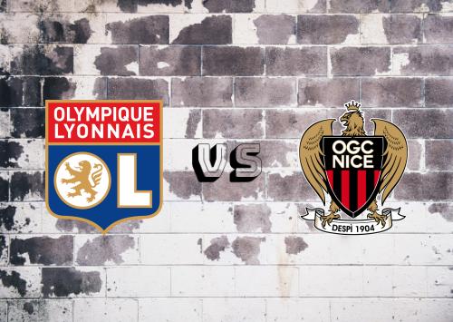 Olympique Lyonnais vs Nice  Resumen