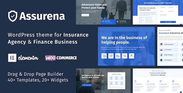 Best Insurance Agency WordPress Theme