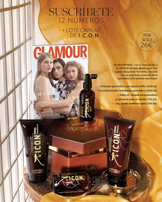 Suscripción Revista Glamour noviembre 2019