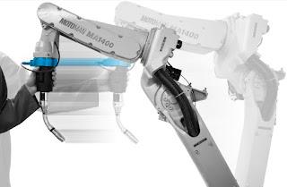 Programming Robot Arm - Teach a Robot by Hand-Guiding