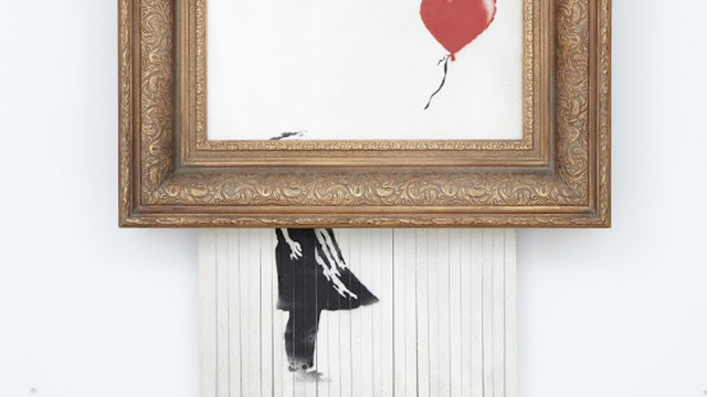 Self Shredding Banksy