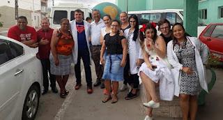 Igreja Evangélica realizou caravana com serviços médicos para população de Baraúna