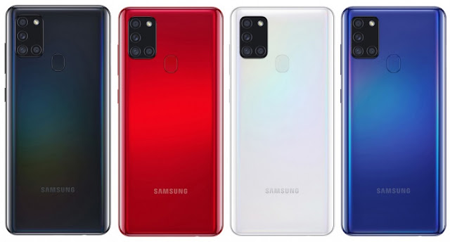 Samsung Galaxy A21s Launched With 6.5inch Infinity O Display, 48MP Quad Camera, 5000mAh Battery